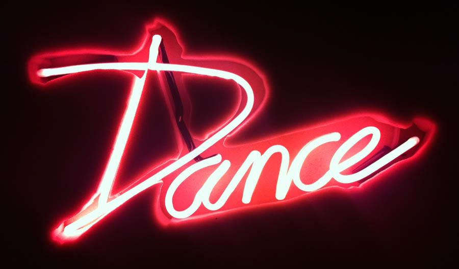 Dance Neon Sign Ericamcewan